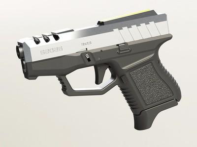 格洛克g2026镂空版复刻-3d打印模型