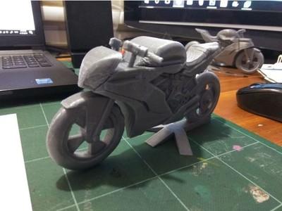 摩托车-3d打印模型