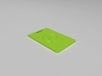 卡套-3d打印模型