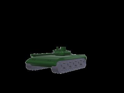加特林坦克-3d打印模型