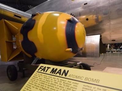 炸平日本长崎的原子弹(胖子)FAT MAN-3d打印模型