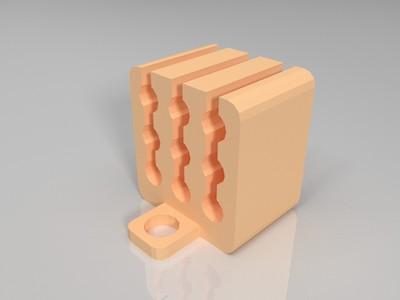 充电线整理器-3d打印模型