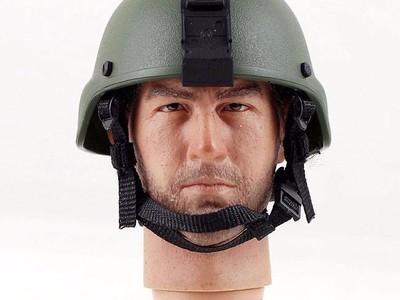 兵人MICH头盔-3d打印模型