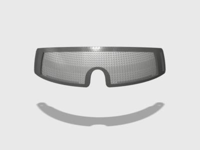 战术风镜(可安装镜片)-3d打印模型