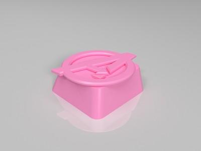 个性键帽-3d打印模型