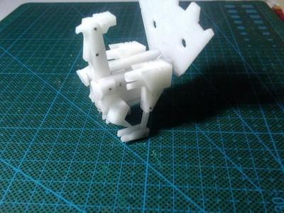 磁带变形-火鸡-3d打印模型
