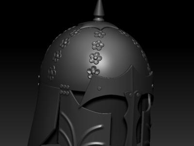 头盔-3d打印模型