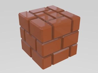 马里奥砖块-3d打印模型