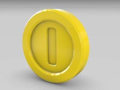 金币-3d打印模型