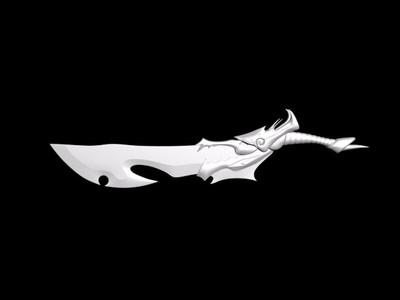 4把刀(已修复所有错误,已修成精模)-3d打印模型