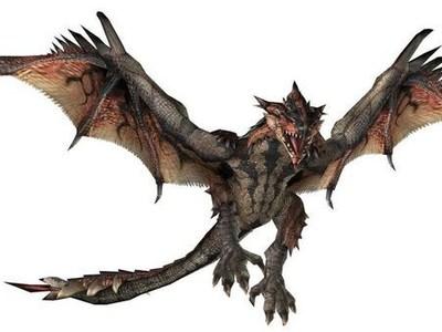 《怪物猎人》---怪物-3d打印模型