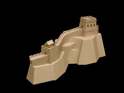 长城-3d打印模型