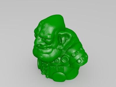 妖精商人-3d打印模型