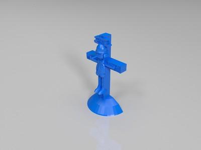 匹诺曹-3d打印模型