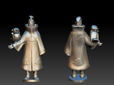 晓-迪达拉-3d打印模型