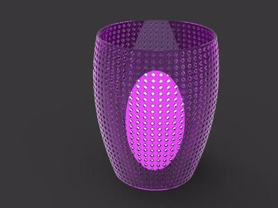 精美灯罩-3d打印模型