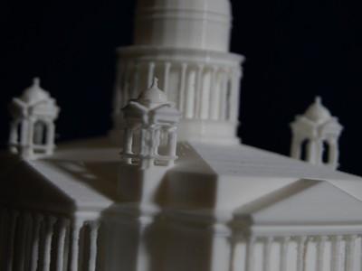 圣以撒大教堂-3d打印模型