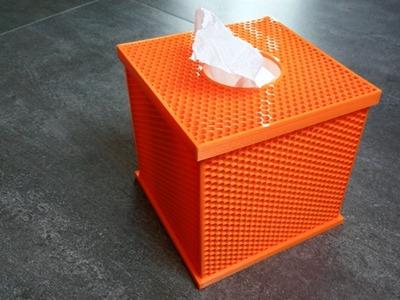 卫生纸盒子-3d打印模型