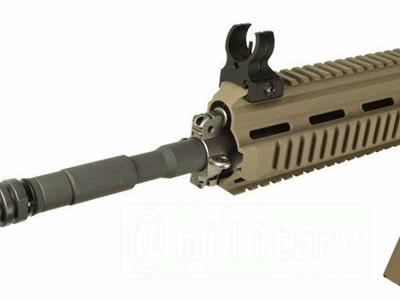 HK416导气管装饰套件(适用与19毫米外管)-3d打印模型