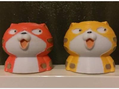 呆猫-3d打印模型