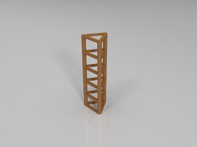 多阶拉丝测试-3d打印模型