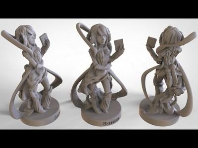 天神档案管理员-3d打印模型