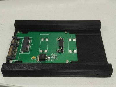SSD、HDD2.5转3.5架子-3d打印模型