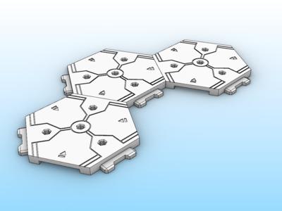 手办人物模型支架底座,简繁两版。免费下载-3d打印模型