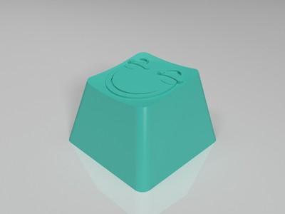 滑稽键帽_机械键盘-3d打印模型