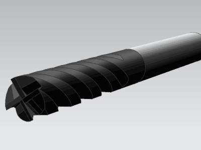 铣刀-3d打印模型