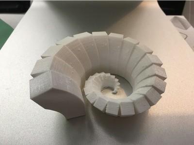 立方体螺旋-3d打印模型