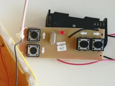 四通道遥控器简易外壳-3d打印模型