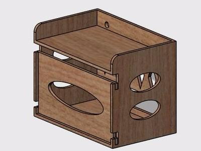 厕纸盒-3d打印模型