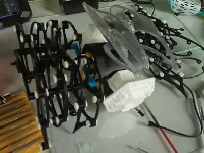仿生兽遥控版多足(自改)-3d打印模型