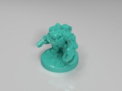 禁星 机甲 棋-3d打印模型