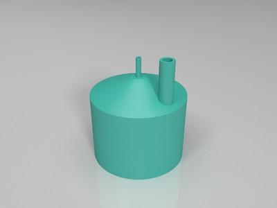氢气制取器-3d打印模型