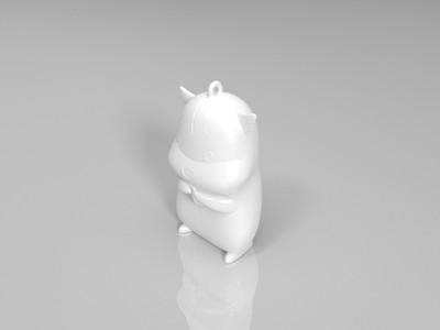 瓜子仓鼠-3d打印模型