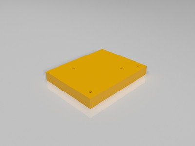 打印机底部塞热支板-3d打印模型