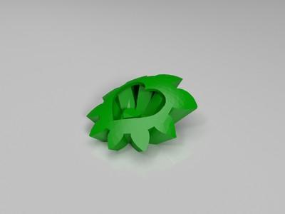 心脏齿轮-3d打印模型