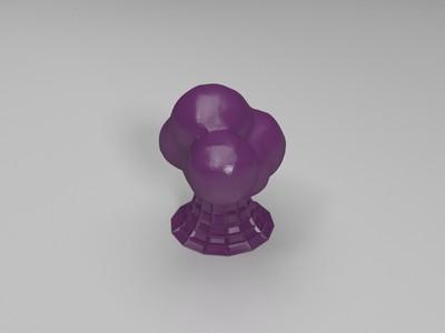 令人心寒的云-3d打印模型