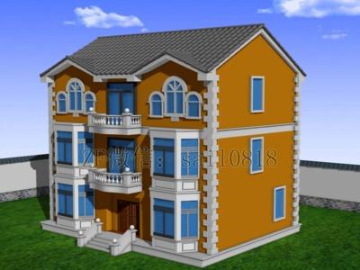农家别墅-3d打印模型