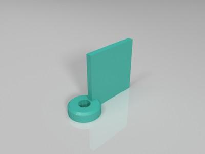 船用舵直连齿盘-3d打印模型