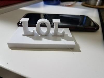 LOL-3d打印模型