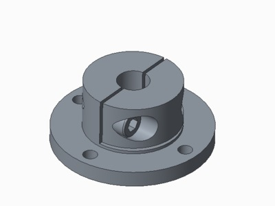 光轴固定座-3d打印模型
