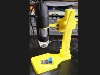 电脑usb显微镜支架-3d打印模型
