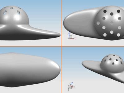 清香剂盒子-3d打印模型