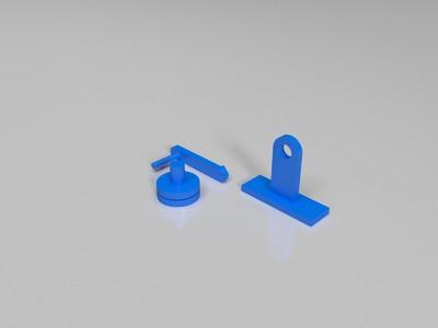 手动切菜器(不带放菜的地方)-3d打印模型