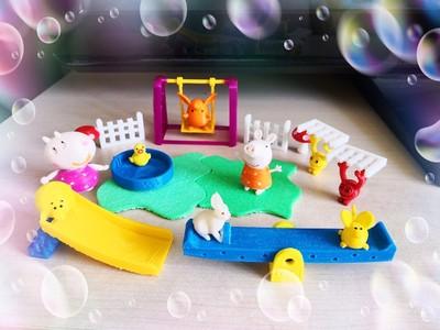 小猪佩奇的游乐场-3d打印模型
