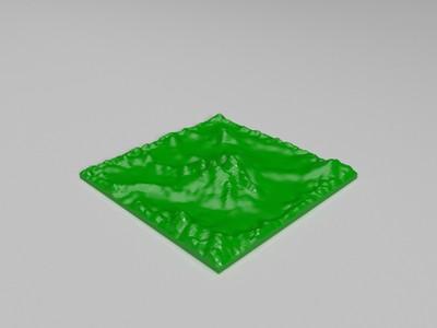 山峦-3d打印模型