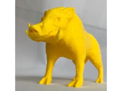 野猪-3d打印模型